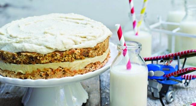 Susan Jane White rawvolutionary carrot cake