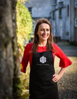 Fiona Uyema at Howth Castle Cookery School