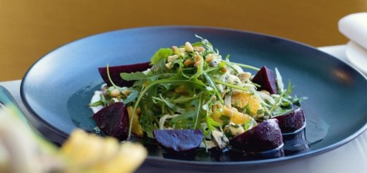 Beetroot, Fennel and Orange Salad The Marker Hotel Chef Gareth Mullins