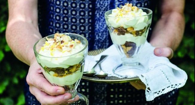 Lemon Crunchie Honeycomb Pots Sheila Kiely