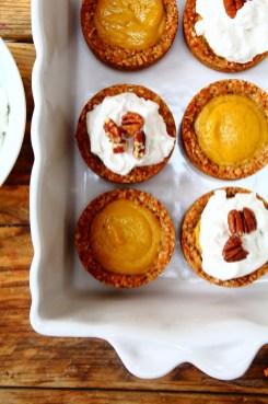 Peachy Palate Mini Baked Carrot Cake Cheesecake