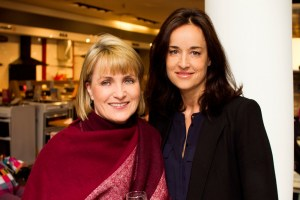 Bairbre Smith and Jenny Cullen at Bauknecht Cooking Demonstration in Arnotts, Saturday 16th April 1