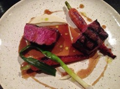 Charred Rump Heart of Beef with Artichoke Purée