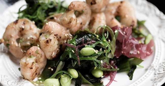 Garlic Tiger Prawns Recipe by Saba Restaurant