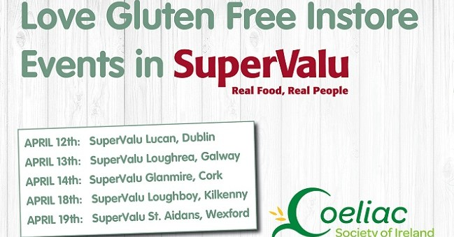 SuperValu Gluten Free Instore Events