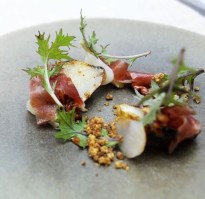 Chef Mark Moriarty Charleston dish
