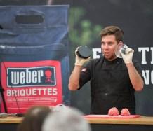 Jamie Weber burgers