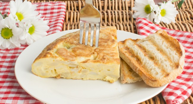 Tortilla de patatas tapa recipe by Tasty Mediterraneo