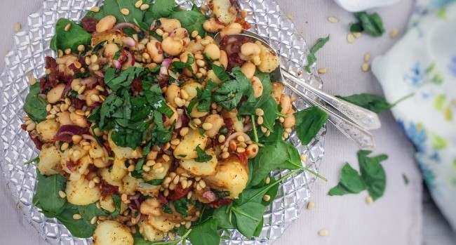 Sundried Tomato & Butter Bean Potato Salad (2)