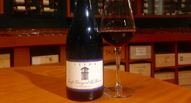 Wine Wednesday pick from O'Briens: Leyda Pinot Noir Las Brisas 2012