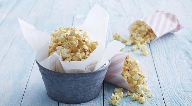 caramel coconut popcorn recipe