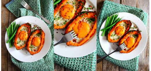 Sweet Potato Egg Boats Peachy Palate