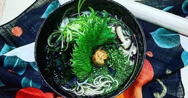 ume wakame soba recipe Takashi Miyasaki