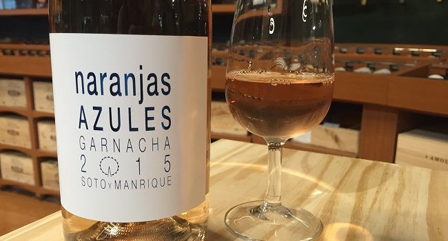 Wine of the Week Pick from O'Briens: Naranjas Azules Rosé 2015