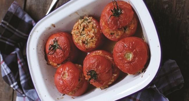 Stuffed Tomatoes Blazing Salads