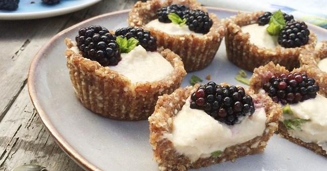 Blackberry & Cashew Custard Tarts (1)