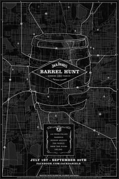 Jack Daniel's Celebrates 150th Anniversary with Worldwide Whiskey Barrel Hunt Including Three Irish Cities