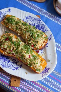 Pumpkin Quinoa Bowl Recipe by Jette Virdi