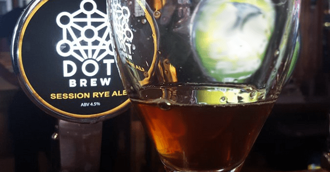 Dot Brew Session Rye Ale - Craft Beer Review