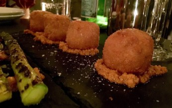 A Door to Barcelona Opens in Blackrock - El Celler Wine Bar Review - Chicken Croquettes