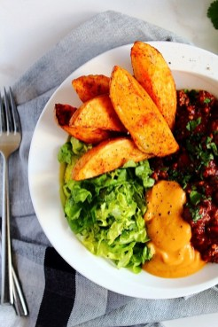 Turkey Cacao Chilli Recipe with Pumpkin 'Cheese' by Peachy Palate