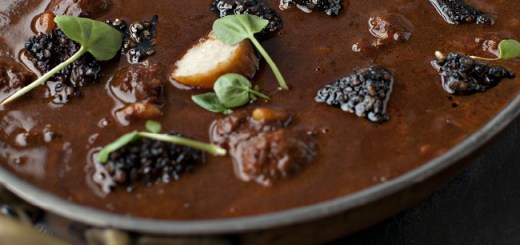 Stew of Clonakilty Black Ppudding with Flageolet Beans and Home-made Sausages Recipe by Peter Clifford