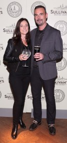 Stephanie Smith and Alan Smith at the Dublin launch of Sullivan's Brewing Company at Lemon & Duke,Royal Hibernan Way,Dublin Picture Bbrian Mcevoy No repro fee for one use