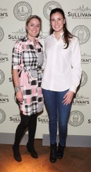 Sandra Heneghan and Sophie Carton at the Dublin launch of Sullivan's Brewing Company at Lemon & Duke,Royal Hibernan Way,Dublin Picture Bbrian Mcevoy No repro fee for one use