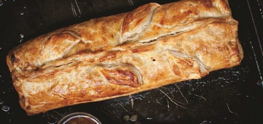 Vegetarian Wellington Recipe by Blazing Salads