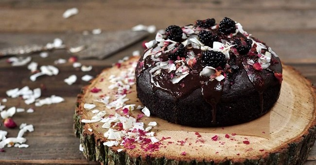 Chocolate Beetroot Cake Recipe with a Dark Chocolate Glaze by The Flour Artist