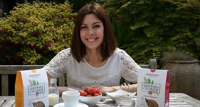 Erica Sheehan of Homespun Quinoa Crunch