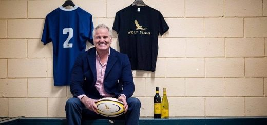 Wolf Blass Rugby Limited Edition Range Feature