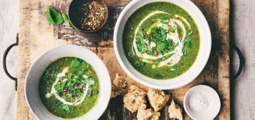 A very green soup recipe by Nina Olsson