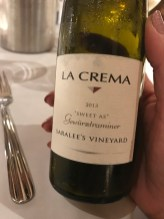 La Crema Sweet As Gerwurztraminer