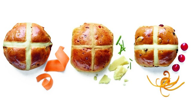 M&S Hot Cross Buns
