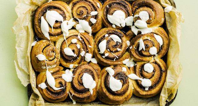 Cinnamon Buns Recipe with Cream Cheese Icing