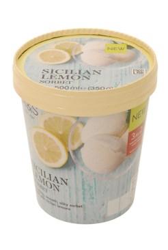 SICILIAN LEMON SORBET - M&S's New Frozen Dessert Collection