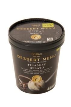 TIRAMISU GELATO - M&S's New Frozen Dessert Collection
