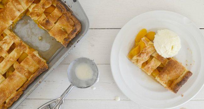 Brown Sugar and Bourbon Peach Pie Recipe
