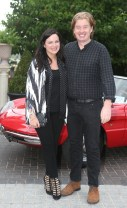NO REPRO FEE 15/06/2017 La Dolce Vita at InterContinental Dublin Midsummer Party. Pictured last night were Triona McCarhty ad William as over 300 invited guests gathered at the five-star InterContinental Dublin in Ballsbridge for a La Dolce Vita-themed midsummer garden party. Guests enjoyed a feast of Italian fare and sipped on refreshing Aperol Spritzes, Prosecco and Gunpowder Gin classic Negronis, as Swing band the Irish Rat Pack entertained the crowd with their jazzy big band numbers. A 1968 Alfa Romeo Spider even made an appearance to top off the La Dolce Vita experience! Photograph: Leon Farrell / Photocall Ireland