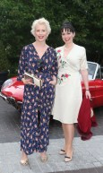 NO REPRO FEE 15/06/2017 La Dolce Vita at InterContinental Dublin Midsummer Party. Pictured last night were Aisling O Loughlin and Hilda O Connor as over 300 invited guests gathered at the five-star InterContinental Dublin in Ballsbridge for a La Dolce Vita-themed midsummer garden party. Guests enjoyed a feast of Italian fare and sipped on refreshing Aperol Spritzes, Prosecco and Gunpowder Gin classic Negronis, as Swing band the Irish Rat Pack entertained the crowd with their jazzy big band numbers. A 1968 Alfa Romeo Spider even made an appearance to top off the La Dolce Vita experience! Photograph: Leon Farrell / Photocall Ireland