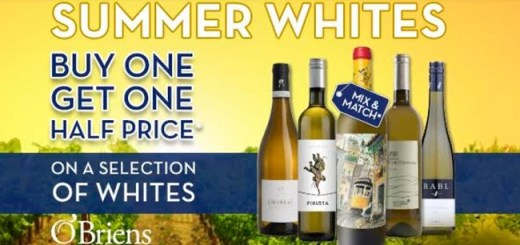 O'Briens Wine Offers Bring Unmissable Bargains for this Bank Holiday