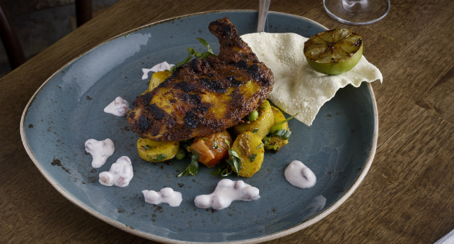 Tandoori Chicken Spatchcock