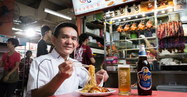 Michelin Starred Singapore Street Food