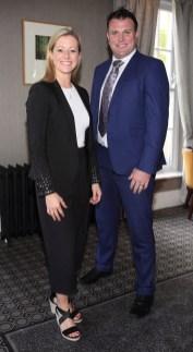Denise Flynn and Sean Reid