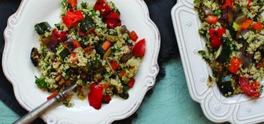Quinoa With Roasted Ratatouille