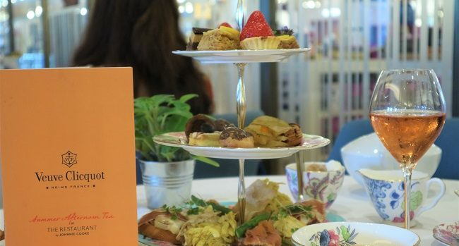 Brown Thomas Veuve Clicquot Summer Afternoon Tea Feature