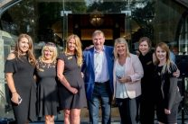 Fitzers Catering Staff at Slane Castle Co Meath. For the opening of the new Gandon Room Restaurant & Brownes Bar at Slane Castle . Photo: AllenKielyPhotography.com