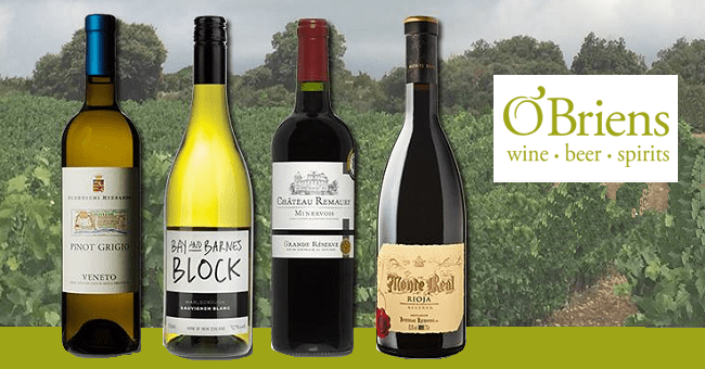 August Brings New Arrivals and Amazing Offers to O'Briens Wine