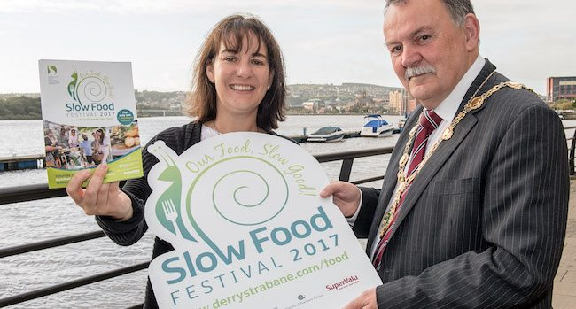 Slow Food Festival 2017 Derry